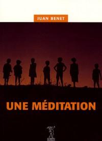Une méditation