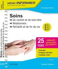 Soins de confort et de bien-être - Soins relationnels - Soins palliatifs et de fin de vie: Unités d'enseignement 4.1, 4.2 et 4.7