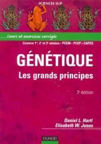 Génétique : Les grands principes : Cours et exercices corrigés