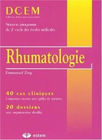 Rhumatologie. : 40 cas cliniques, 20 dossiers