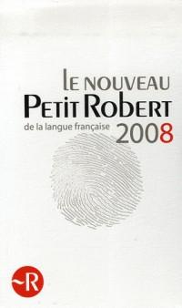 Le Petit Robert 2008 Coffret en 2 volumes