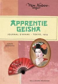 Apprentie geisha: Journal d'Ayami - Tokyo, 1923