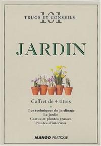 101 trucs & conseils : Jardin, coffret de 3 titres + 1 graduit