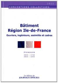 Bâtiment Region Ile de France - Ouvriers et Cadres