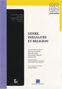 Genre, inégalités et religion
