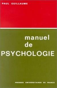 Manuel de psychologie
