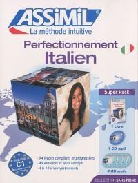 Perfectionnement italien : CD mp3 (4CD audio)