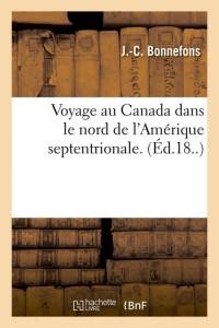 Voyage au canada  ed 18