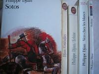 philippe djian - lot 5 livres : sotos - crocodiles - echine - vers chez les blancs - ardoise