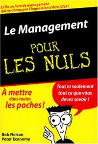 Management, poche pour les nuls