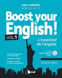 Boost your english ! L'essentiel de l'anglais : Avec Corrigés. Pack en 2 volumes (1CD audio)