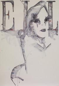 Cover Girl : Edition limitée avec lithographie de Rebecca Bournigault