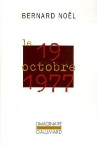 Le 19 octobre 1977