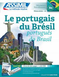 Pack USB Le portugais du Brésil B2 : Avec 1 livre + 1Clé Usb