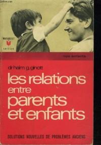 Les relations entre parents et enfants