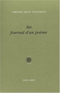 Aa : Journal d'un poème