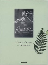 100 poèmes d'amour - 100 poèmes de bonheur (Coffret 2 volumes)