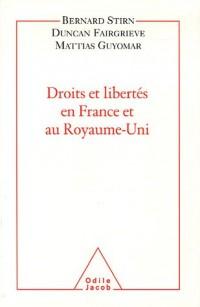 Droits et libertés en France et au Royaume-uni
