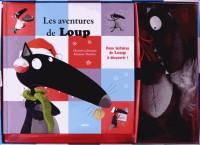 Coffret Loup + Peluche