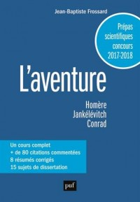 L'aventure, classes préparatoires scientifiques 2017/2018