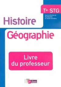 Histoire Geographie Terminale Stg Livre du Professeur