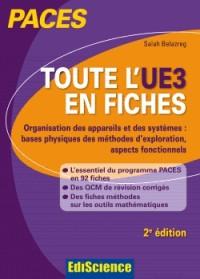 Toute l'UE3 en fiches PACES - 2e éd. - Physique, Biophysique