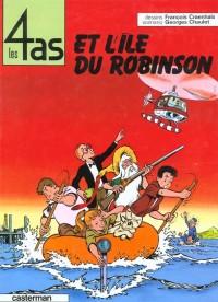 Les 4 as, tome 9 : Les 4 as et l'île du Robinson