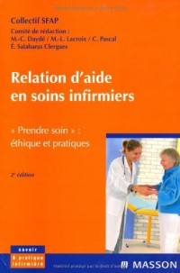 Relation d'aide soins infirmiers : SFAP, Société française d'accompagnement et de soins palliatifs