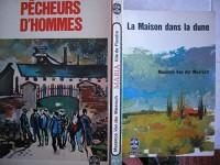 lot 3 livres maxence van der meersch : fille de flandre - pecheurs d'hommes - la maison dans la dune