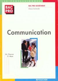 Communication : Bac pro Secrétariat, Terminale
