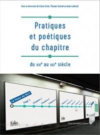Pratiques et poétiques du chapitre: Du XIXe au XXIe siècle