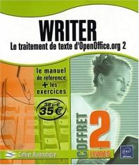 Writer - le Traitement de Texte d'Openoffice.Org 2 -le Manuel de Reference + le Cahier d'Exercices