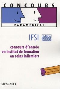 IFSI : Concours d'entrée en institut de formation en soins infirmiers