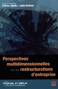 Perspectives Multidimensionnelles Sur les Restructurations