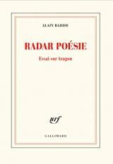 Radar poésie: Essai sur Aragon