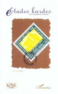 Etudes Kurdes 4 Juin 2002
