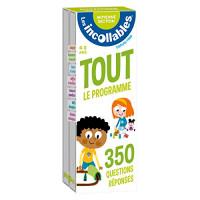 Les incollables - Tout le programme de la moyenne section - 4/5 ans: 350 questions réponses pour réviser en 2 éventails