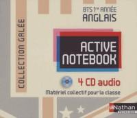 Active Notebook Bts Première Annee >B2 (Galee) 4 CD Audio 2013