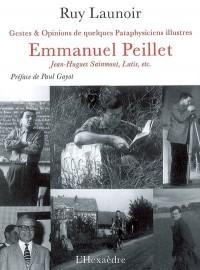 Emmanuel Peillet, Jean-Hugues Sainmont, Latis, etc