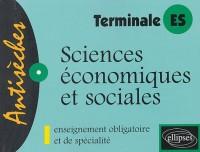 Sciences économiques et sociales : Enseignement obligatoire et de spécialité