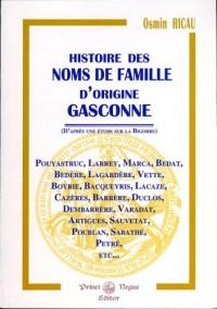 Hist. des Noms de Famille Gasconne