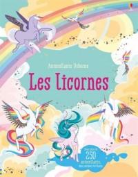 Les Licornes - Autocollants Usborne