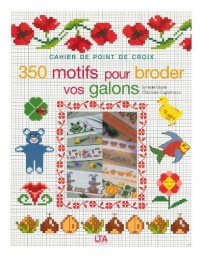 350 motifs pour broder vos galons