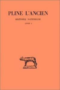 Histoire naturelle : Livre 1