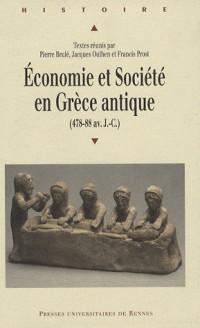 Economie et Société en Grèce antique (478-88 av. J-C)