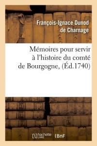 Memoires du Comte de Bourgogne  ed 1740