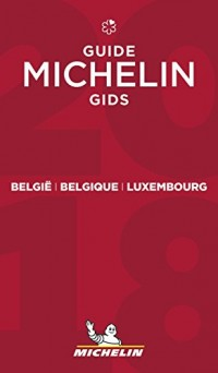 Guide Michelin Belgique Luxembourg 2018