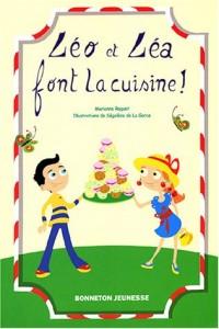 Léo et Léa font la cuisine !