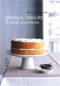 Gâteaux, biscuits et carrés gourmands