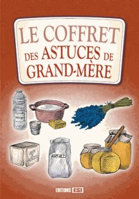 Coffret Carton 3 Volumes - Astuces de Grand-Mere